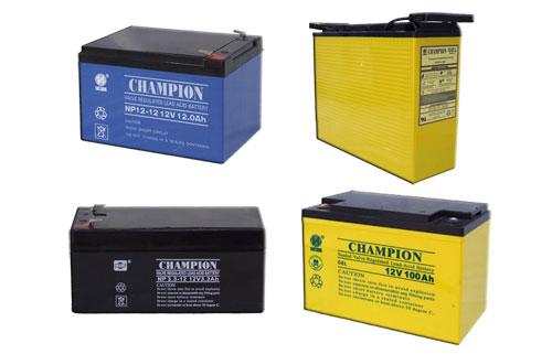 冠军蓄电池NP12V系列产品